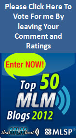 Post image for Vote For Raena Lynn For Top 50 MLM Blogs 2012